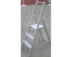 Huishoud-trapladders uit aluminium