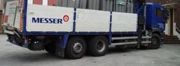 Moriau Gas vrachtwagen Messer - Zijkant